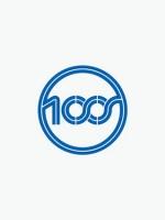 100s / Logotype